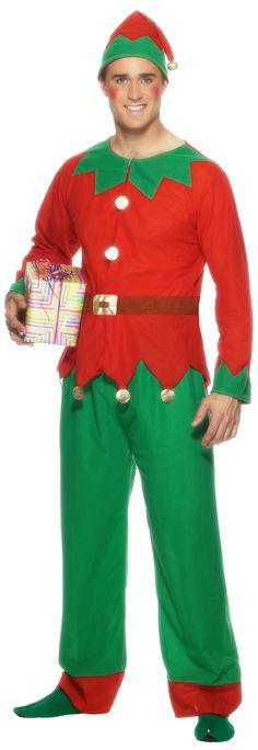 7f9b54929c9d Déguisement elfe homme Noël : Deguise-toi, achat de Déguisements adultes  Déguisement Elfe Homme