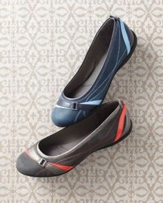 Privo® by Clarks Pursuit Ballet Flats - this is what comfort is all about!
