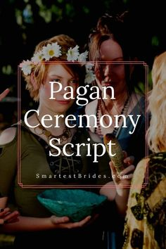 If you are going for a Pagan style ceremony at your wedding, this article is for. If you are going for a Pagan style ceremony at your wedding, this article is for you. Pagan Wedding Dresses, Wiccan Wedding, Wedding Prayer, Wedding Ceremony Script, Viking Wedding, Medieval Wedding, Wedding Rituals, Celtic Wedding, Gothic Wedding