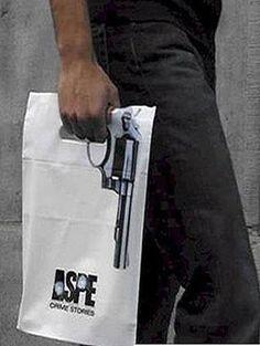 Sachet pistolet