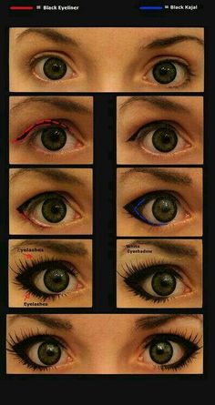 anime eyes for cosplay (using circle lenses)