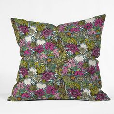 fantastical stellata throw pillow
