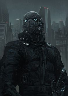 Cyberpunk Atmosphere, Cyborg, Future City, Dystopia, Futuristic, 210111 by ~torei on deviantART