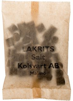 Salt liquorice
