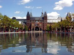The Rijksmuseum (National Museum) [Amsterdam, The Netherlands]