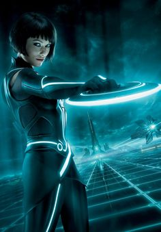 Olivia Wilde as Quorra in TRON: Legacy