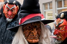 The Schwabian-Alemannic Fastnacht (Fasching) in Tubingen, Germany | Flickr - Photo Sharing!