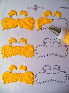 Bird On A Cake-Lorax cupcakes