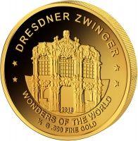 100 Francs Niger Dresdner Zwinger 2017 Dresdner Zwinger Dresdner Munzsammlung