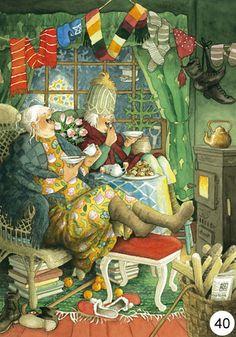 art by inge Look images | Inge Look Postkaarten 39