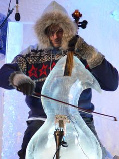 snow cello This is soo cool I want one of these