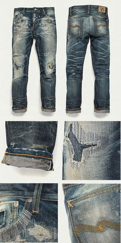 Nudie Jeans Co Stone Mason Replica