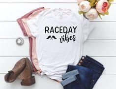 Raceday Vibes Triblend Shirt / Highline Brand Apparel