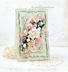 Wild Orchid Crafts: Mint card