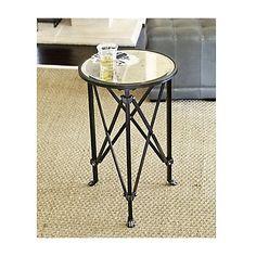 Ballard Designs Olivia Mirrored Side Table $150