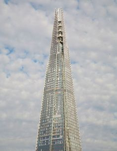 Renzo Piano's The Shard building in London, photographed by AD100 architect Lee Mindel