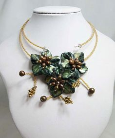 bridesmaid gift Bead NecklaceBeaded JewelryPearl by audreyjewelry, $35.00