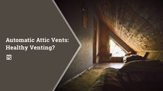 Keeping your home cool in the summer and warm in the winter is one of the big goals of most… Real Estate Leads, Real Estate Tips, Selling Real Estate, Attic Vents, Buying Investment Property, Attic Spaces, Warm In The Winter, Heating And Air Conditioning, Keller Williams Realty