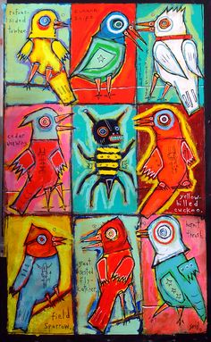birds and a bee, by matt sesow  (dec 2013)