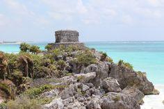 C 21 Tulum Tulum, Yucatan Peninsula, Mexico- Mayan Ruins dated between the 13th ...