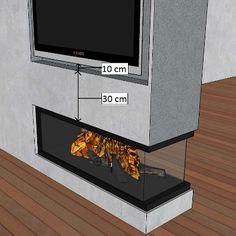 Afbeeldingsresultaat voor gashaard met tv erboven