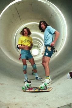 Don't hate us cuz we wear the jean shorts!! Lol 70s skaters, #YoungLifeCamp