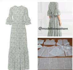Best 12 No automatic alt text available. Dress Sewing Patterns, Clothing Patterns, Modest Dresses, Modest Outfits, Gown Pattern, Abaya Fashion, Fashion Sewing, Pattern Fashion, Clothes For Women