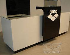 BOUTIQUE Store Counter, Top Freezer Refrigerator, Custom Design, Furniture Design, Display, Boutiques, Google Search, Floor Space, Boutique Stores