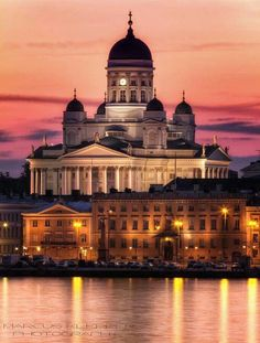 Helsinki, Finland - The most beautiful city in Norther Europe according to me. I can't see myself living there but i would explore all the country starting from there anytime ;)