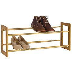 Extending Wooden Shoe Rack - from Lakeland