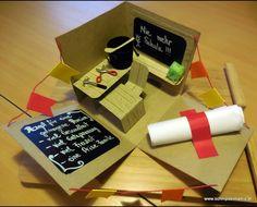 Explosionsbox für eine Werklehrerin zur Pensionierung  mit Stampin'up! @ Ute Lamprecht Up, Teachers, Gifts
