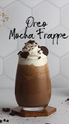 Mug Recipes, Coffee Recipes, Chocolate Dishes, Tastemade Recipes, Chocolates, Indian Dessert Recipes, Starbucks Recipes, Tricks, Frappe Recipe