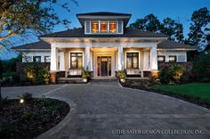 Love the look of this one from the outside, great interior plan as well. Just a bit big.