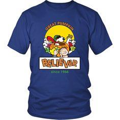 Great Pumpkin Believer Happy Halloween Snoopy Shirts