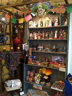 The Day of the Dead section at Rio de Ojas is chock full of gorgeous goodies.