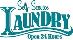 Burton Avenue: Freebie Friday - Laundry Sign