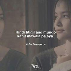 Hugot!! #mcdo Filipino Quotes, Filipino Funny, Tagalog Love Quotes, Sad Love Quotes, Bisaya Quotes, Patama Quotes, Motivational Quotes, Qoutes, Mc Do