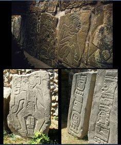 mayan art pakal tombstone limestone carving mayan art. Black Bedroom Furniture Sets. Home Design Ideas