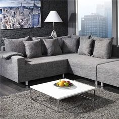 Couch, Sofa Design, Angles, Module, Kare Design, Shades Of Grey, Designer, Sweet Home, Gray