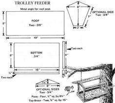 wild bird feeder plans