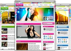 WordPress theme designed for musicians, bands, artists and fan clubs
