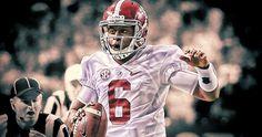 NCAA Football: SEC Championship-Missouri vs Alabama: MR ALABAMA FOOTBALL..BLAKE SIMS!