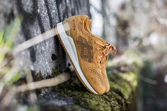 ASICS GEL LYTE III LC TAN/TAN available at www.tint-footwear.com/asics-gel-lyte-iii-lc-7171 asics gel-lyte gel lyte 3 III laser cut LC tan retro running sneaker sneakers tint footwear studio munich münchen