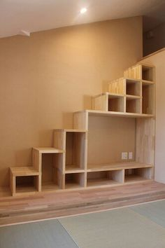 loft ideas Trendy Open Closet Ideas Stairs Ideas How To Choose a Storage Shed Ar Open Stairs, Attic Stairs, Attic Closet, Closet Space, Tiny House Design, Home Design, Tiny House Stairs, Building Stairs, Big Closets