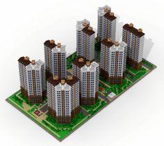 Apartment: A LEGO® creation by Yo-Sub Joo : MOCpages.com