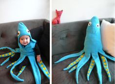 clever costume #2657 - the squid
