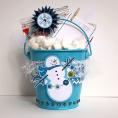 Cute bucket....made with Winter Twig by LYB