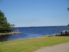 View of the Baltic Sea from Furuvik
