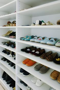 How to organize shoe