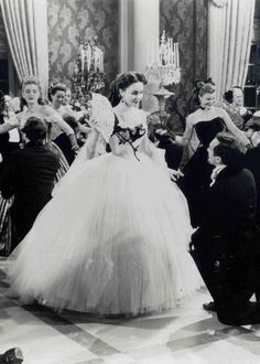 The dress skirt and shape and fluff is what i love! Madame Bovary's Waltz.